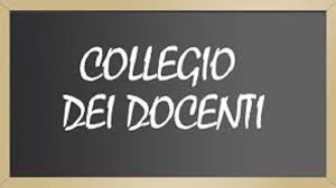 AVVISO N.16- CONVOCAZIONE DEL COLLEGIO DEI DOCE...