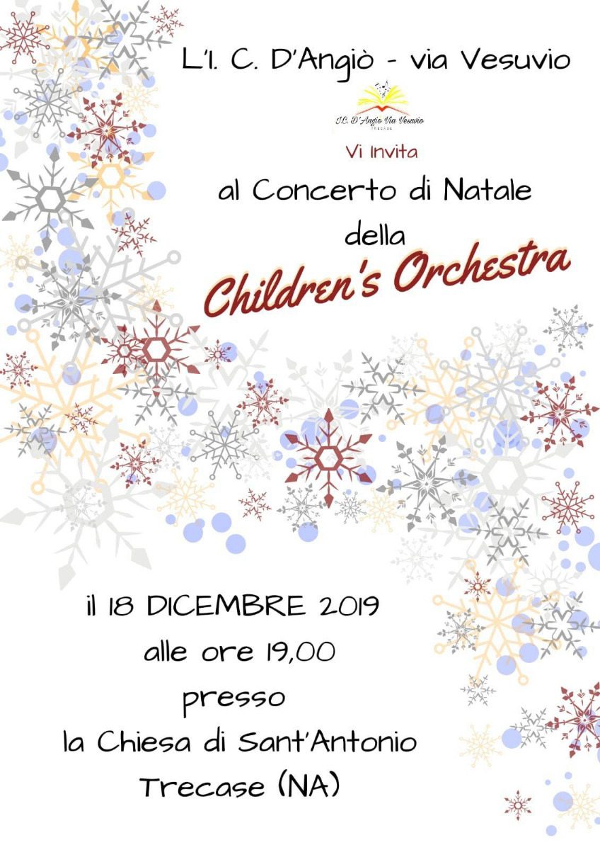 CONCERTO DI NATALE - THE CHILDREN'S ORCHESTRA