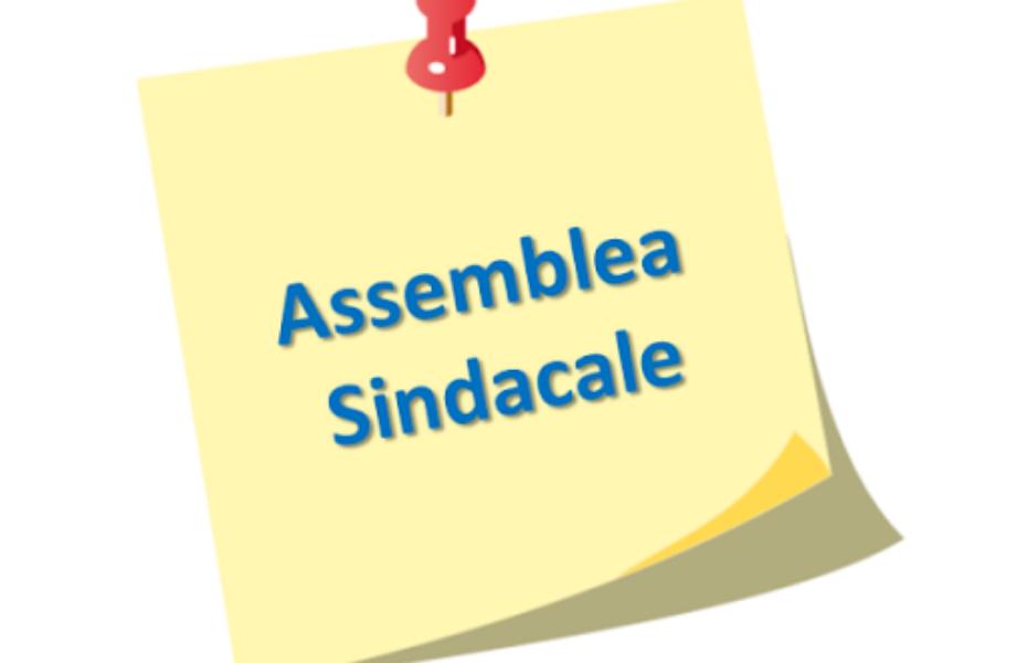 AVVISO N. 38 - ASSEMBLEA SINDACALE 11 DICEMBRE 2020